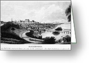 1856 Greeting Cards - Richmond, Virginia, 1856 Greeting Card by Granger