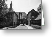 Benjamin Matthijs Greeting Cards - Riddagshausen monestary Greeting Card by Benjamin Matthijs