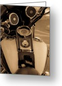 Speakers Greeting Cards - Ride With Grit Greeting Card by DigiArt Diaries by Vicky Browning