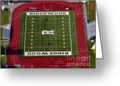 Ridgewood Greeting Cards - Ridgewood Field in Chicago Greeting Card by Angela Pari  Dominic Chumroo