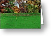 Ohio Country Greeting Cards - Ridgewood Golf and Country Club Greeting Card by Robert Harmon