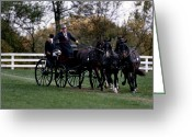 Dressage Photo Greeting Cards - Right Turn Greeting Card by Skip Willits