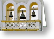 Chimes Greeting Cards - Ring My Chimes Greeting Card by Al Bourassa