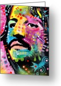 Dean Russo Greeting Cards - Ringo Starr Greeting Card by Dean Russo