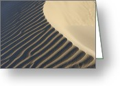 Luz Greeting Cards - Ripples In Sand Dunes At Beach Near Cadiz, Costa De La Luz, Cadiz Province, Andalusia, Spain Greeting Card by Martin Ruegner