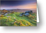 West Country Greeting Cards - Rippon Tor Greeting Card by Sebastian Wasek