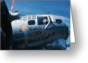 Rita Greeting Cards - Rita B52 Greeting Card by Gary Brandes