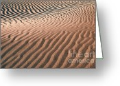 Landscape Photographs Greeting Cards - River of Sand - Death Valley Greeting Card by Sandra Bronstein