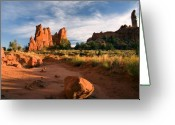 Kodachrome Greeting Cards - River of Sand Greeting Card by Mike  Dawson