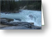 Mark Lehar Greeting Cards - River Spirit Greeting Card by Mark Lehar