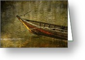Edmonton Photographer Prints Greeting Cards - Rivers Regrets  Greeting Card by Jerry Cordeiro