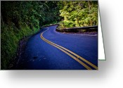 ; Maui Photo Greeting Cards - Road to Hana Greeting Card by Adam Romanowicz