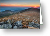 Evgeni Dinev Greeting Cards - Road to Sunrise Greeting Card by Evgeni Dinev