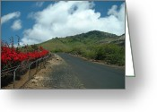 Ascension Island Greeting Cards - Road to the Gods Greeting Card by Erik Albright