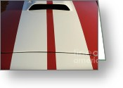 Carroll Shelby Photo Greeting Cards - Roadster Greeting Card by Luke Moore
