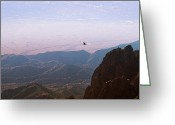 Sandias Greeting Cards - Roam. Greeting Card by Chelsey Beck