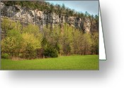 Tamyra Ayles Greeting Cards - Roark Bluff Greeting Card by Tamyra Ayles
