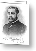Autograph Greeting Cards - Robert Chesebrough Greeting Card by Granger