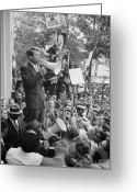 Civil Rights Greeting Cards - Robert F. Kennedy Greeting Card by Granger