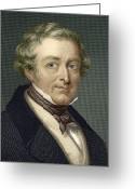 Conservative Greeting Cards - Robert Peel, British Prime Minister Greeting Card by Sheila Terry