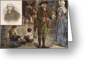 Soot Greeting Cards - Robert Raikes (1735-1811) Greeting Card by Granger