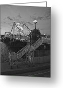 Pittsburgh Greeting Cards - Roberto Clemente Bridge Greeting Card by Dirk VandenBerg