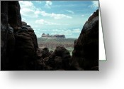 Rock Formations Greeting Cards - Rock Formations In Arches National Park Greeting Card by Stacy Gold