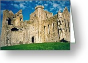 Plot Greeting Cards - Rock of Cashel Ireland Greeting Card by Douglas Barnett
