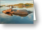 Colorado Mountain Greeting Cards Greeting Cards - Rock Refections at Dowdy Lake Co Greeting Card by James Steele