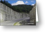 Rock Walls Greeting Cards - Rock Walls Greeting Card by Terri Mills