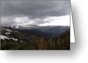 Rocky Mountain National Park Greeting Cards Greeting Cards - Rockies Greeting Card by Dottie Gillespie