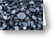Endurance Greeting Cards - Rocks On The Beach Of Hana Bay Greeting Card by Todd Gipstein