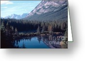 Canada Greeting Cards - Rocky Mountain Gem Greeting Card by Jim Sauchyn