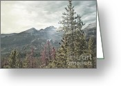 Rocky Mountains Greeting Cards Greeting Cards - Rocky Mountain Spring Greeting Card by Andrea Hazel Ihlefeld