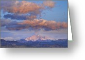 Meeker Greeting Cards - Rocky Mountain Sunrise Greeting Card by James Bo Insogna