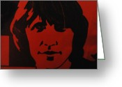 Portriat Greeting Cards - Roger Waters Greeting Card by Rob Hans