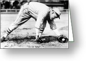 St.louis Cardinals Greeting Cards - Rogers Hornsby (1896-1963) Greeting Card by Granger