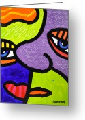 Multi Color Greeting Cards - Rogue Request Greeting Card by Steven Scott