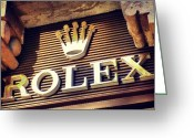 Igdaily Greeting Cards - #rolex #watch #igdaily #android #ighub Greeting Card by Tommy Tjahjono