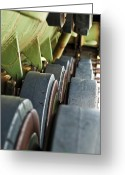 M60 Patton Tank Greeting Cards - Rolling On Greeting Card by Christi Kraft