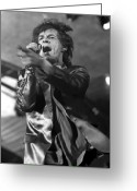 Live Music Greeting Cards - Rolling Stones Vi Greeting Card by Rafa Rivas