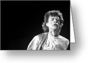 Live Music Greeting Cards - Rolling Stones Xiii Greeting Card by Rafa Rivas