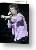 Rolling Stones Photo Greeting Cards - Rolling Stones Xv Greeting Card by Rafa Rivas