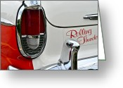 Fifties Automobile Greeting Cards - Rolling Thunder Greeting Card by Robert Harmon