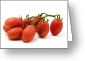 Roma Greeting Cards - Roma Tomato Greeting Card by Fabrizio Troiani
