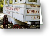 Louisiana Greeting Cards - Roman Chewing Candy Greeting Card by Scott Pellegrin