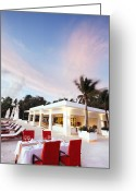 Architect Photo Greeting Cards - Romantic Place Greeting Card by Setsiri Silapasuwanchai