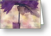 "\""floral Still Life\\\"" Greeting Cards - Romantisme - s0304d Greeting Card by Variance Collections"