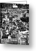 Vatican City Greeting Cards - Rome Cityscape 1 Greeting Card by John Rizzuto