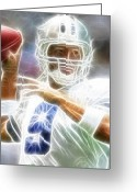 Qb Greeting Cards - Romo Greeting Card by Paul Van Scott